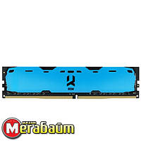 Опер. память DDR4 8GB/2400 GOODRAM Iridium Blue (IR-B2400D464L15S/8G)