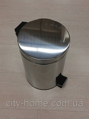 Відро для сміття з педаллю 7 л, фото 2
