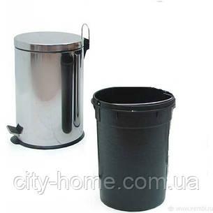 Відро для сміття з педаллю 3 л, фото 2