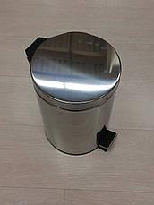 Ведро для мусора с педалью 3 л, фото 2