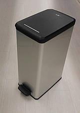 Ведро для мусора Curver Slim Bin педалью 40 литров, фото 2