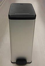 Ведро для мусора Curver Slim Bin педалью 40 литров, фото 3