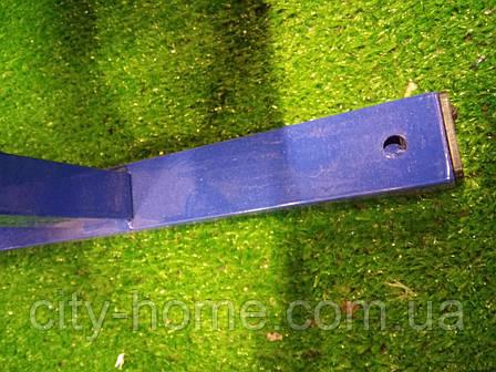 """Урна для мусора """"Цилиндр"""" 37 л. (синяя), фото 2"""