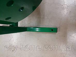 """Урна для мусора """"Цилиндр"""" 12 л. (зелёная), фото 3"""