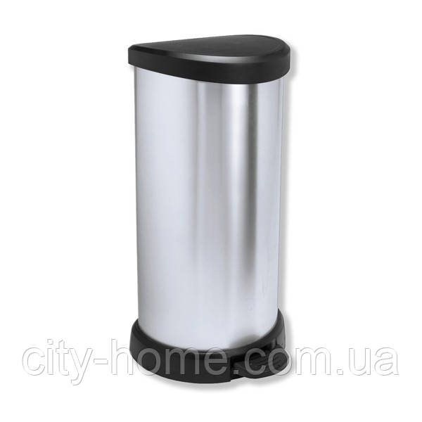 Ведро для мусора Curver Deco Bin педалью 40 литров