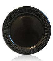 Тарелки одноразовые Черные