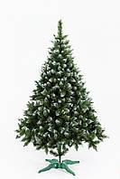 Искусственная елка Рождественская 1,8м Зелёная с белыми кончиками (SUN2164), фото 1