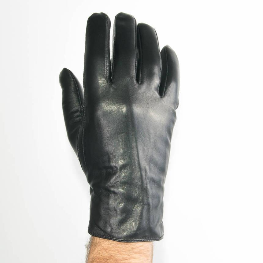 Мужские демисезонные перчатки из качественной кожи - M13-3 до 20 см, фото 2