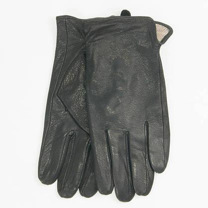 Оптом мужские кожаные перчатки из оленьей кожи с шерстяной подкладкой - №M31-1, фото 3