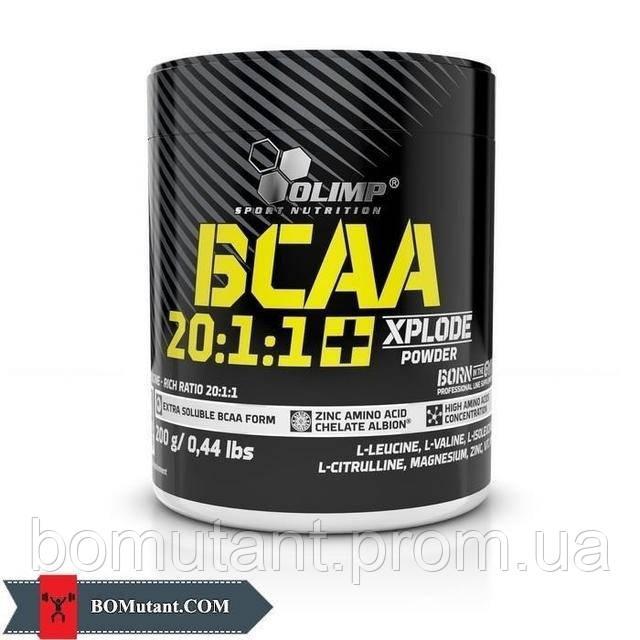 BCAA 20:1:1 + Xplode 200 гр xplosion cola OLIMP