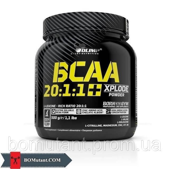 BCAA 20:1:1 + Xplode 500 гр xplosion cola OLIMP