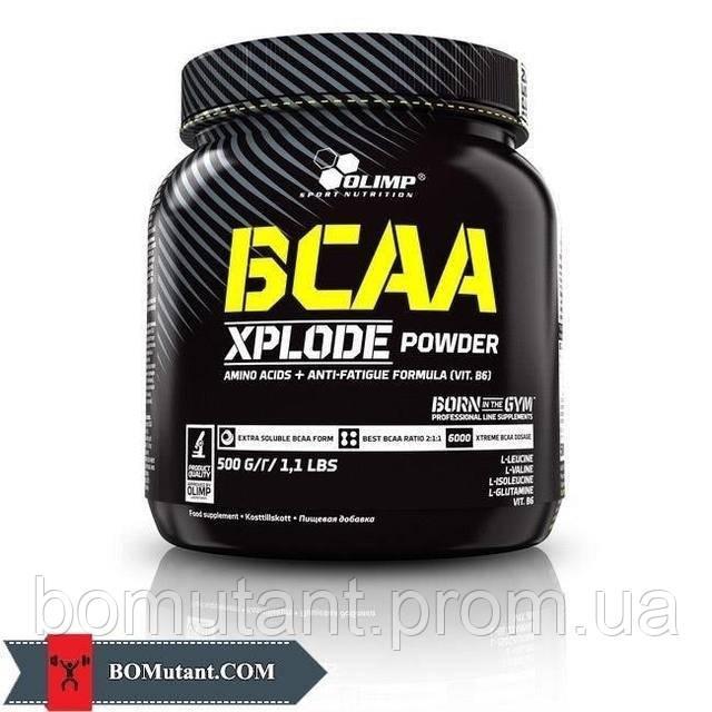 BCAA Xplode 500 гр fruit punch OLIMP