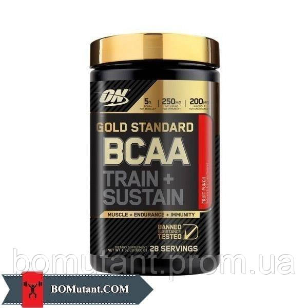 BCAA Gold Standard 280 гр cranberry lemonade Optimum Nutrition