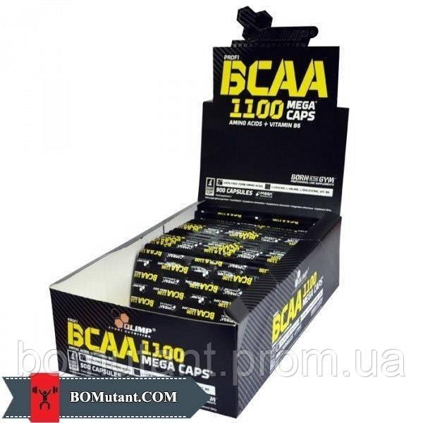 BCAA Mega Caps 1 блистер OLIMP