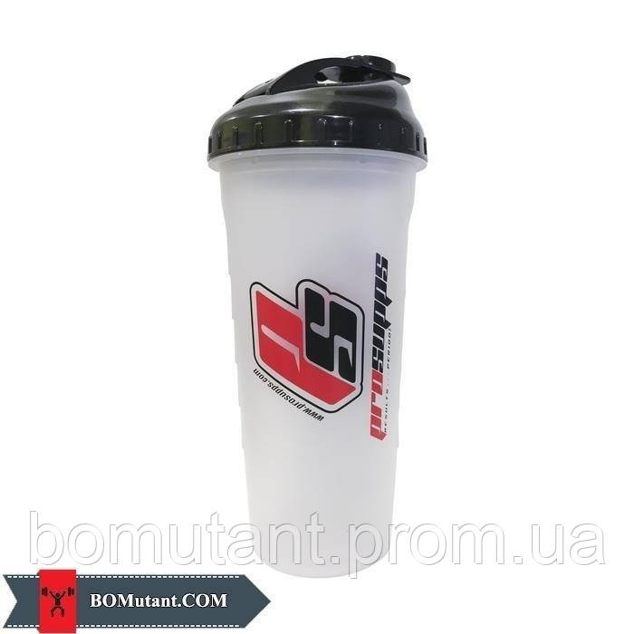 Shaker ProSupps clear with BlackTop 700 ml back Pro Supps