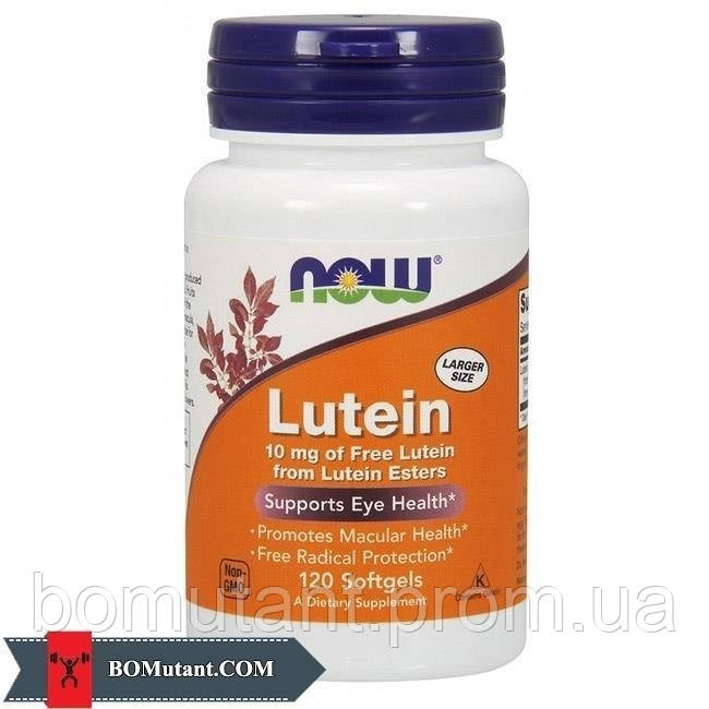 Lutein 10 mg 120 softgel NOW