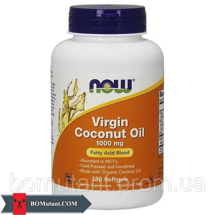 Virgin Coconut Oil 1000 mg 120 softgels NOW