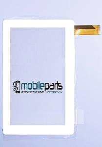 """Оригинальный Сенсор (Тачскрин) для планшета 7"""" Verico Uni Pad CM-USP03A-13QC 30pin (186x111mm) (Белый)"""
