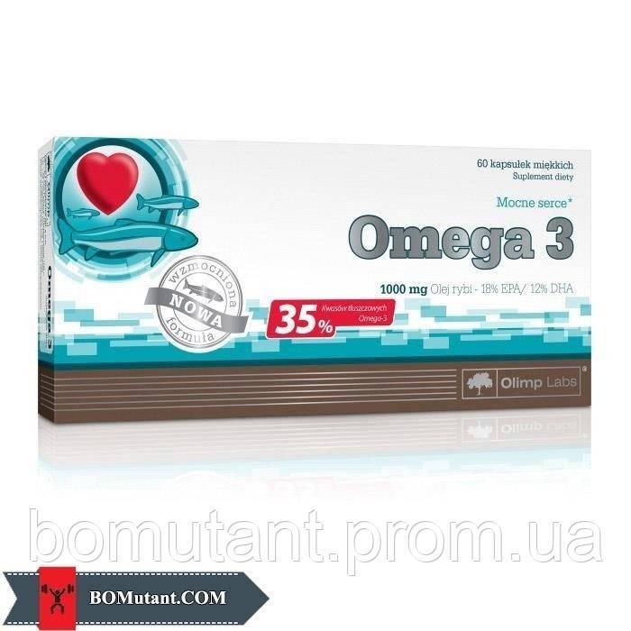 Omega 3 35% 1000 mg 60 капсул OLIMP