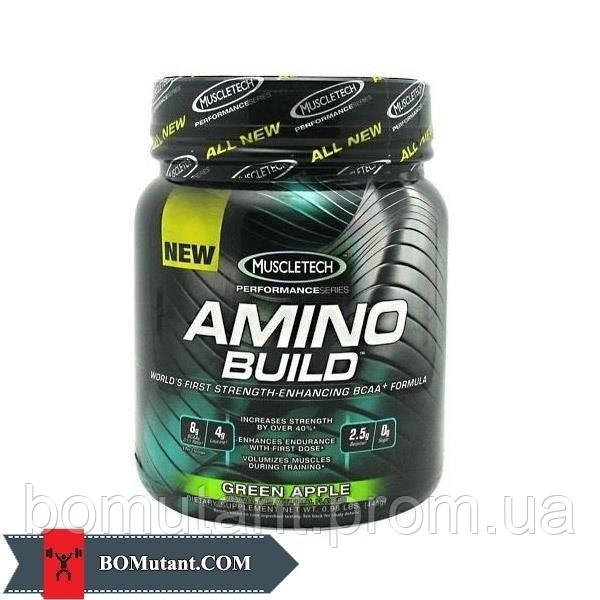 Amino Build 50 serv. 445 гр green apple MuscleTech