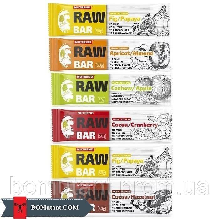 Raw Bar 50 гр fig-black rowan Nutrend
