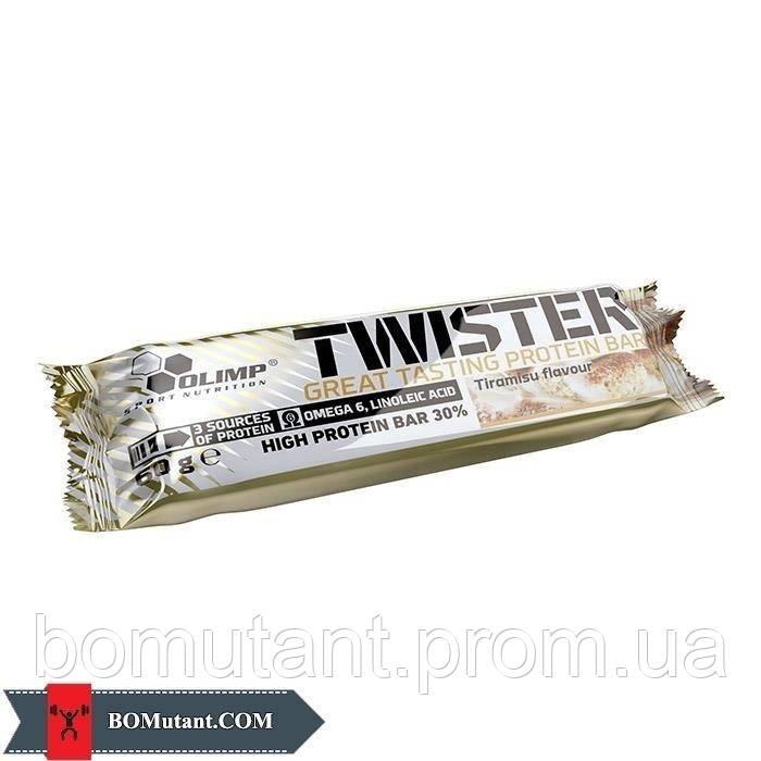 Twister Bar 60 гр pistachio OLIMP