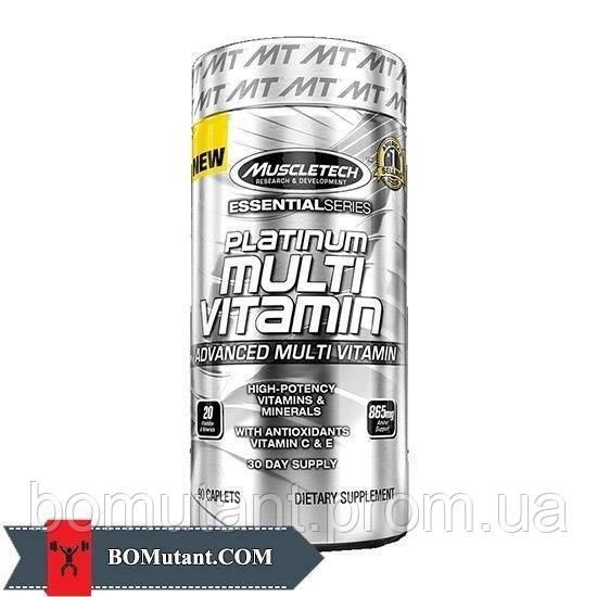 Platinum Multi Vitamin 90 caplets MuscleTech