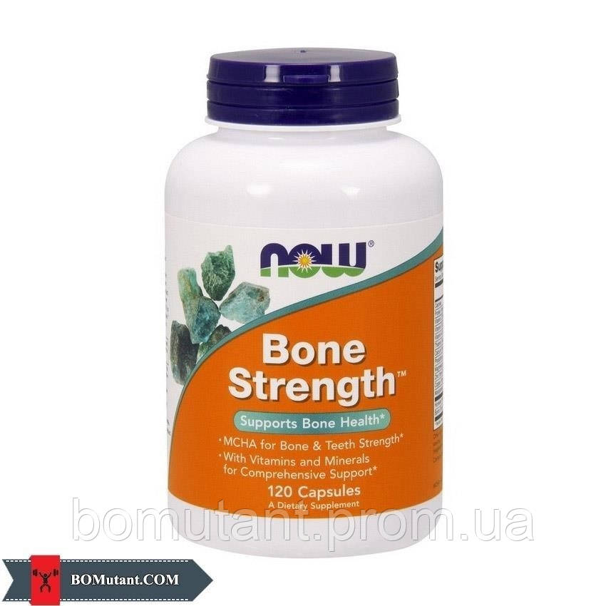 Bone Strenght 120 капсул NOW