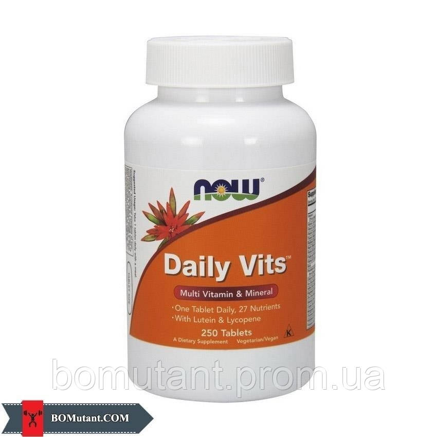 Daily Vits 250 таб NOW