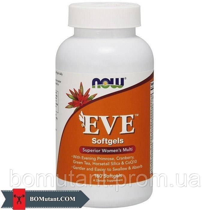 EVE 180 softgels NOW
