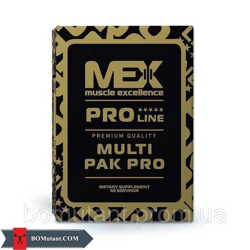 Multi Pak Pro 30 pak MEX Nutrition