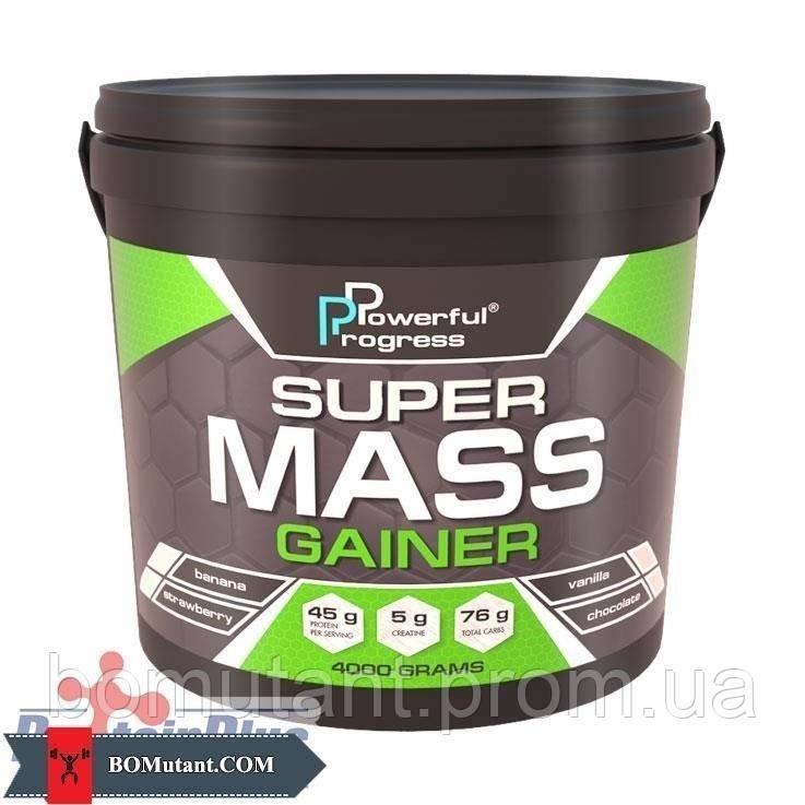 Super Mass Gainer 4 кг vanilla Powerful Progress