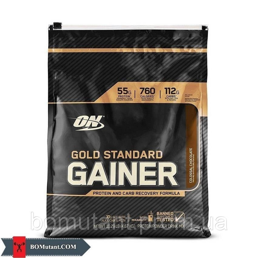 Gold Standart Gainer 4,67 кг cinnamon bun Optimum Nutrition