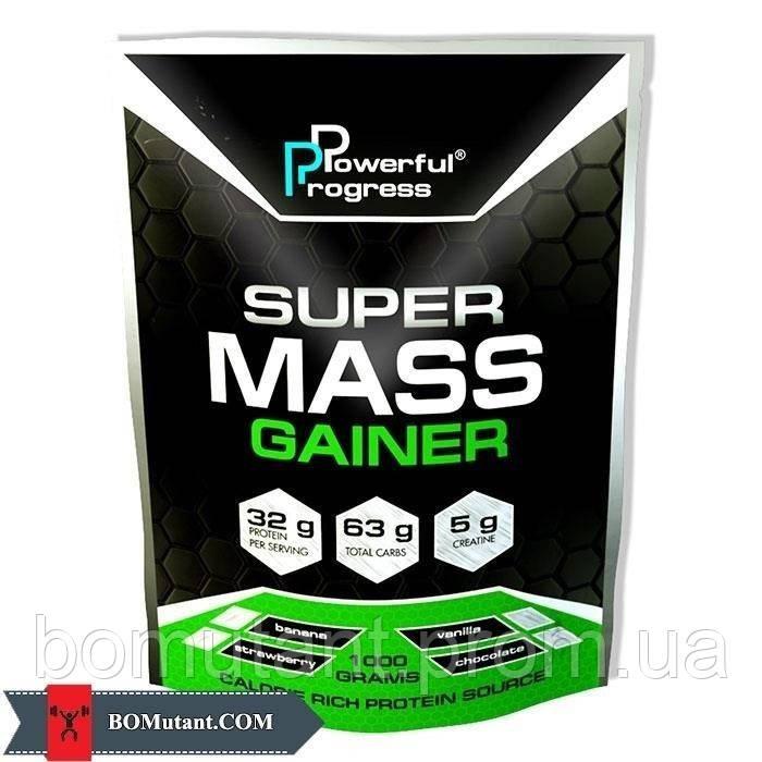 Super Mass Gainer 1 кг banana Powerful Progress