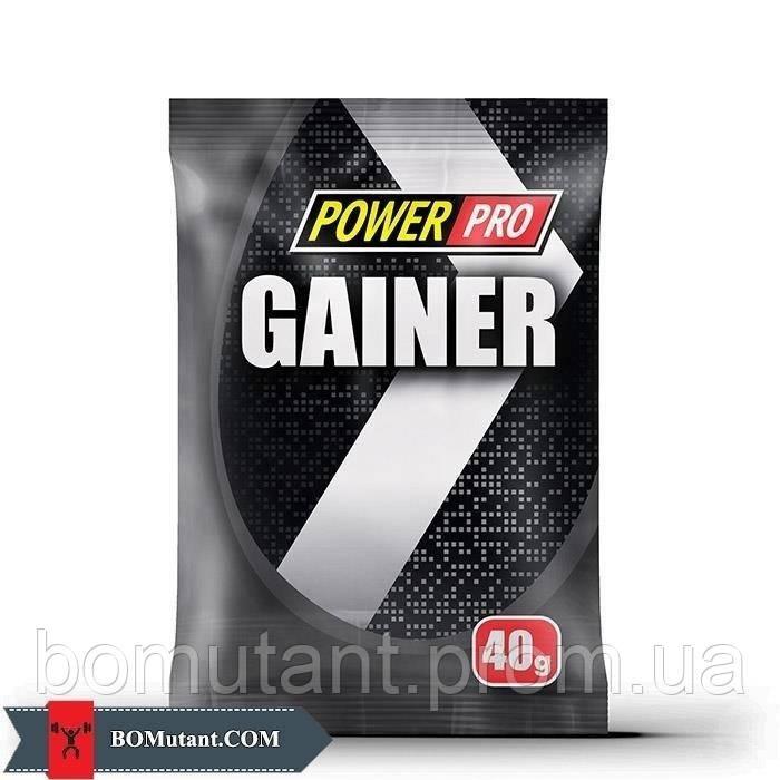 Gainer 40 гр лiсовi ягоди Power Pro