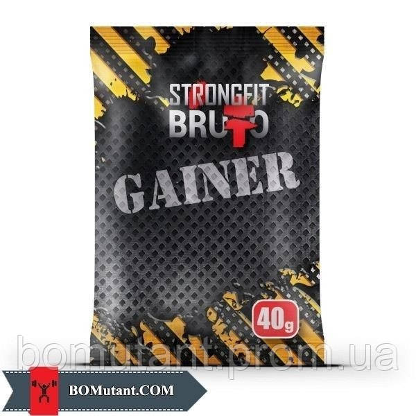 Gainer 10% 40 гр шоколад-кокос Strong FIT