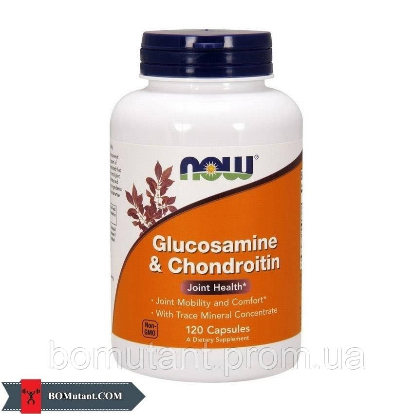 Glucosamine & Chondroitin 120 cap NOW