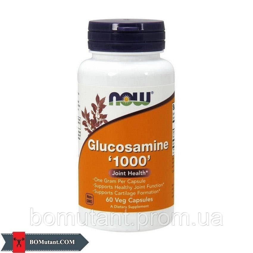 Glucosamine 1000 60 капсул NOW