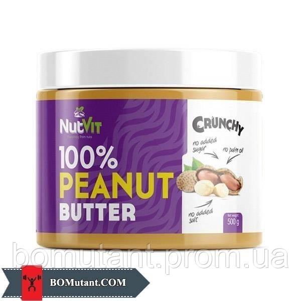 100% Peanut Butter 500 гр smooth OstroVit