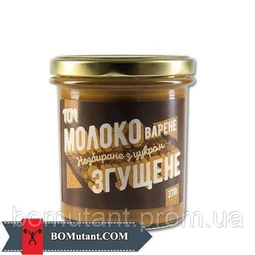 Молоко варене згущене 370 гр TOM peanut butter