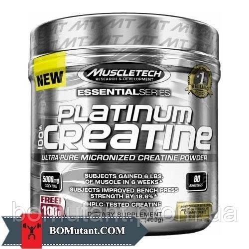 Platinum 100% Creatine 400 гр MuscleTech