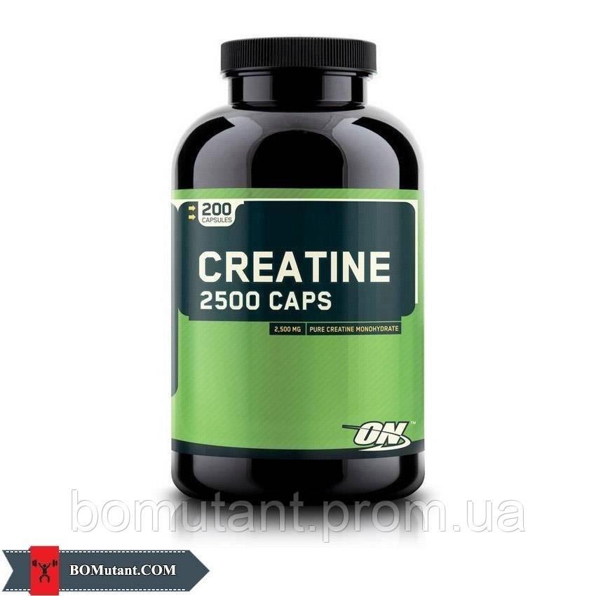 Creatine 2500 200 капсул Optimum Nutrition
