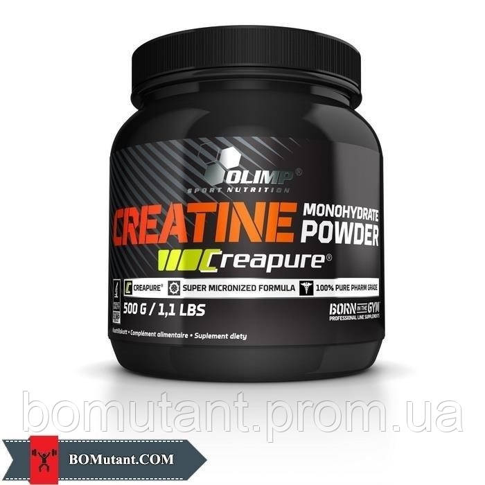 Creatine Monohydrate powder Creapure 1 кг OLIMP