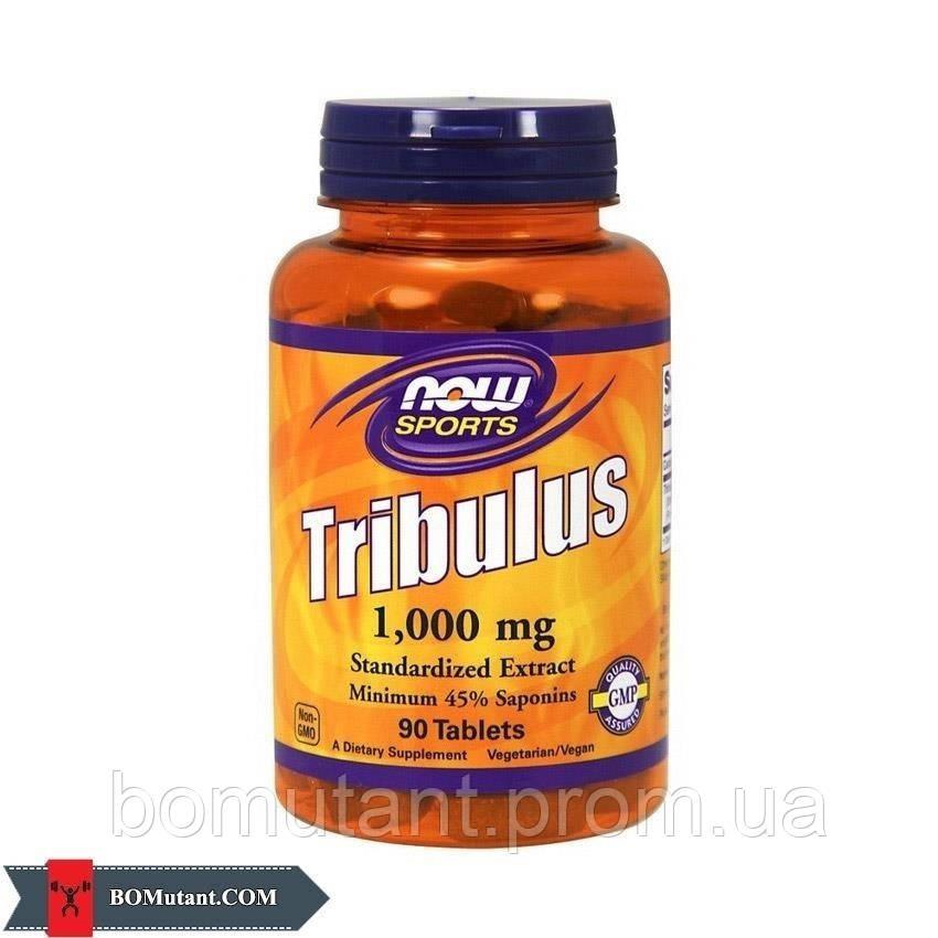 Tribulus 1000 mg 90 табs NOW