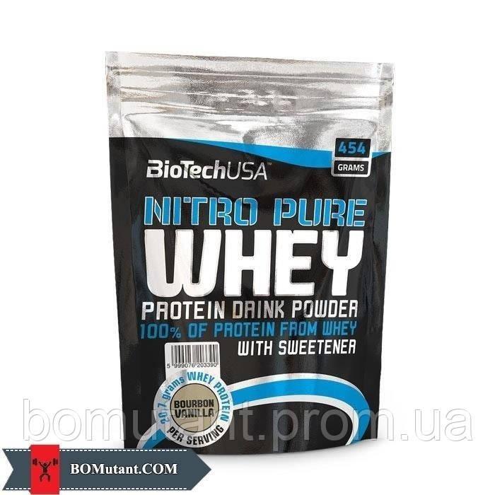 Nitro Pure Whey 454 гр chocolate BioTech