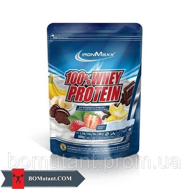100%  Whey Protein 500 гр melon IronMaxx