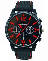 Спортивные наручные мужские черные часы (ч-27)