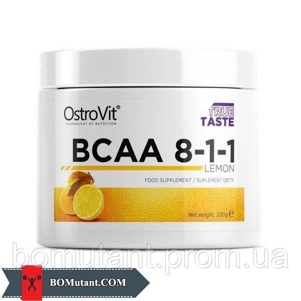 BCAA 8-1-1 200 гр lemon OstroVit