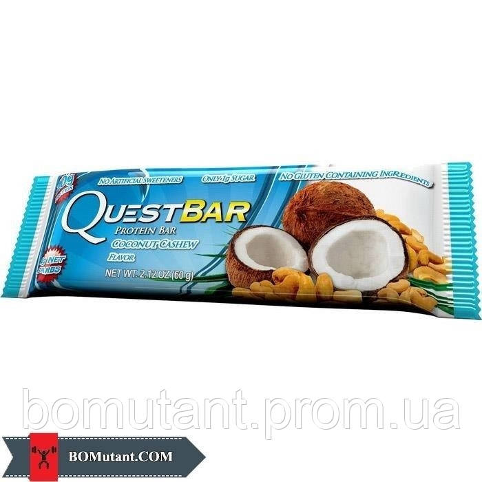 Protein Bar 60 гр coconut cashew-natural Quest Nutrition