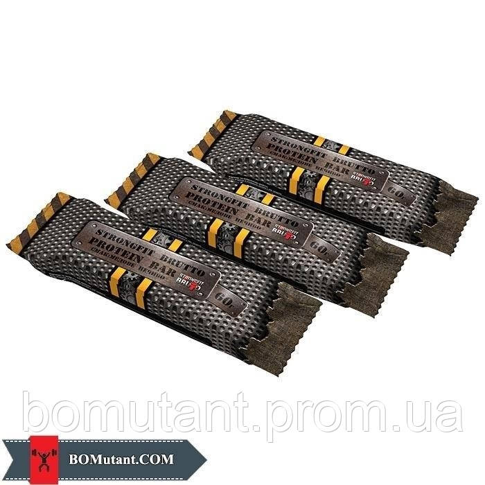 Protein Bar 36% 60 гр медове печиво Strong FIT